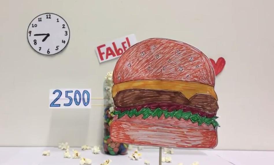 Visuele factcheck: 'eten na 20.00 uur maakt dik'