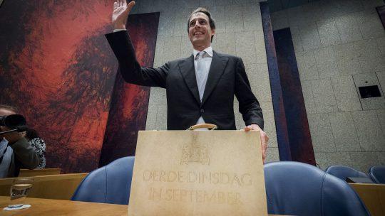 Rutte: 'Wij zijn een van de weinige landen in Europa met een begrotingsoverschot'