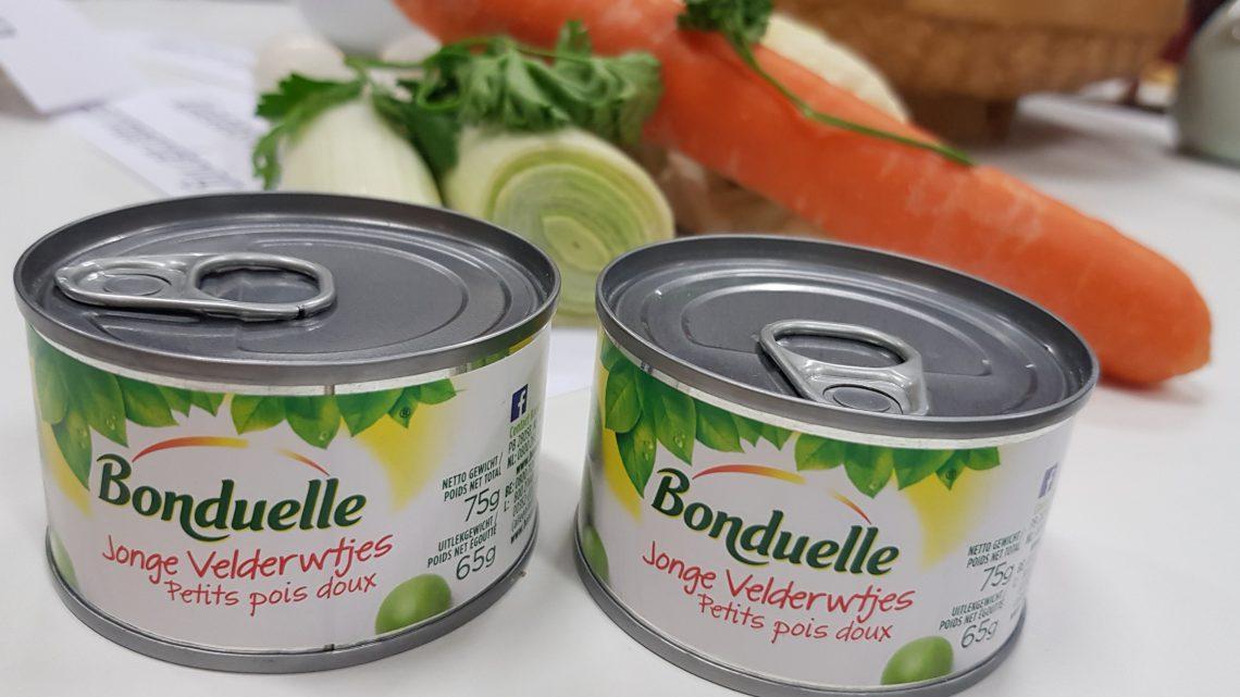 'Groenten uit blik hebben een hoger vitaminegehalte dan verse groenten'