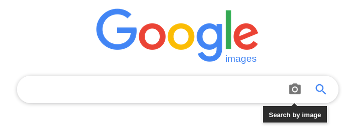 Google Images, waar je een foto kunt uploaden