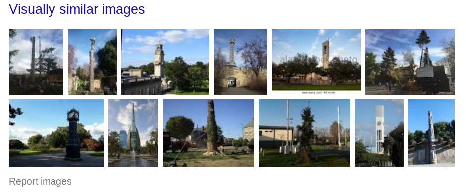 Google laat vergelijkbare foto's zien