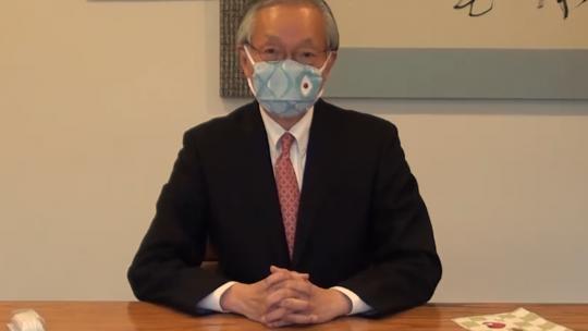 Het veilige(?) masker van Horinouchi