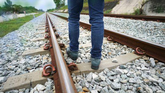 Is spoorlopen een groot probleem?